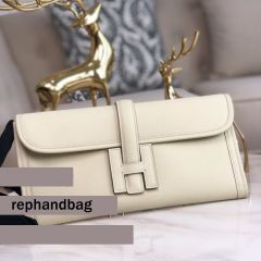 High Quality Replica Hermes Bags Online Jige 29cm Epsom Leather Apricot