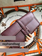 Top quality Fake Hermes Jige 29cm Swift Leather Win-red