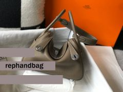 Replica Grey Hermes Lindy 26cm Bags Sale Outlet Online